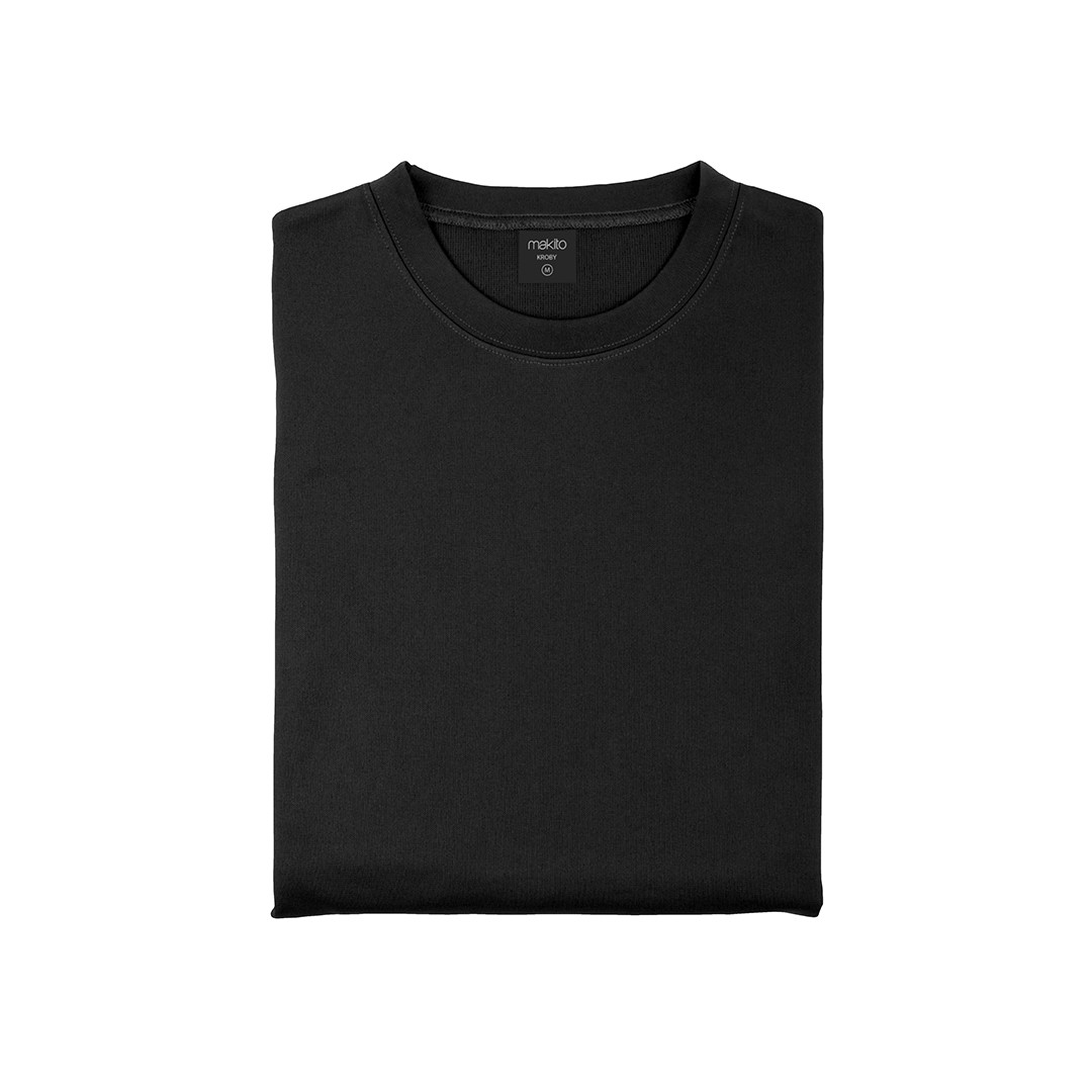 Sweatshirt Tecnica Criança Kroby - Preto / 6-8