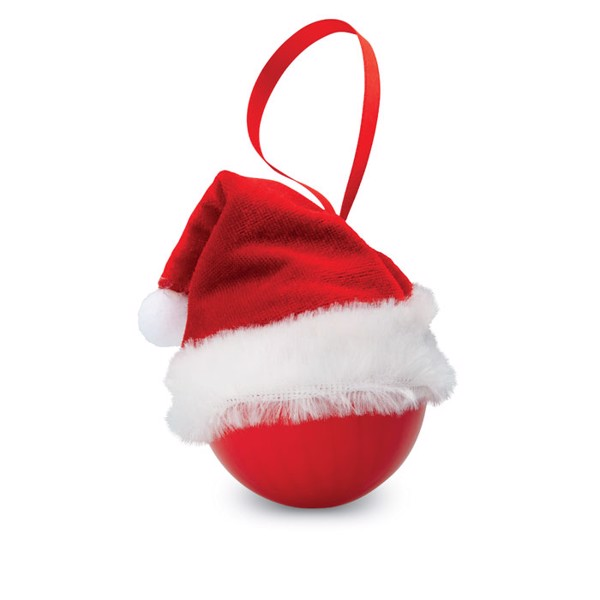Xmas bauble with Santa hat Bolihat