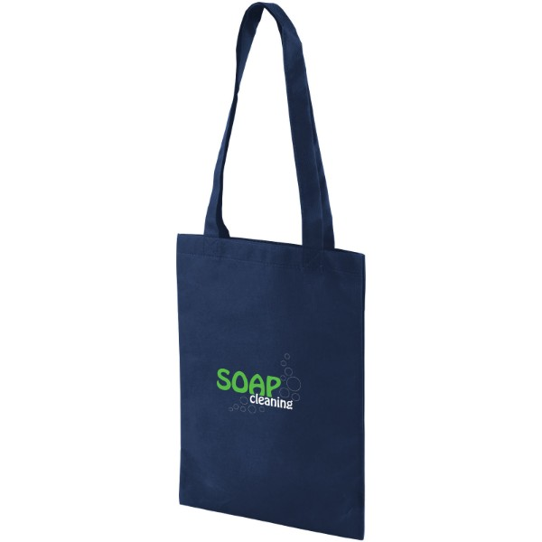 Eros small non-woven convention tote bag - Navy