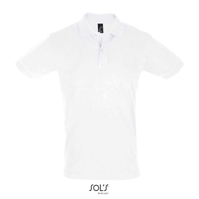 PERFECT POLO HOMBRE 180g Perfect Men - Blanco / L