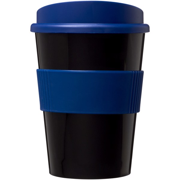 Hrnek s rukojetí Americano® medio 300 ml - Černá / Modrá