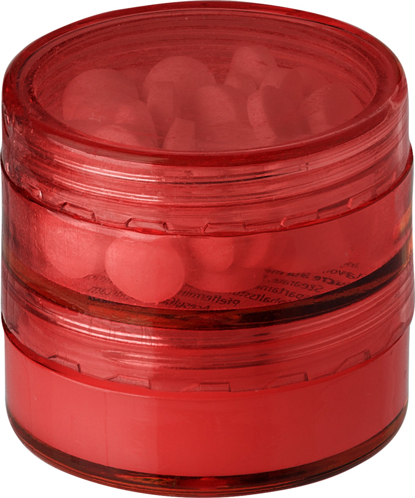 PS holder with mints and lip balm - Red