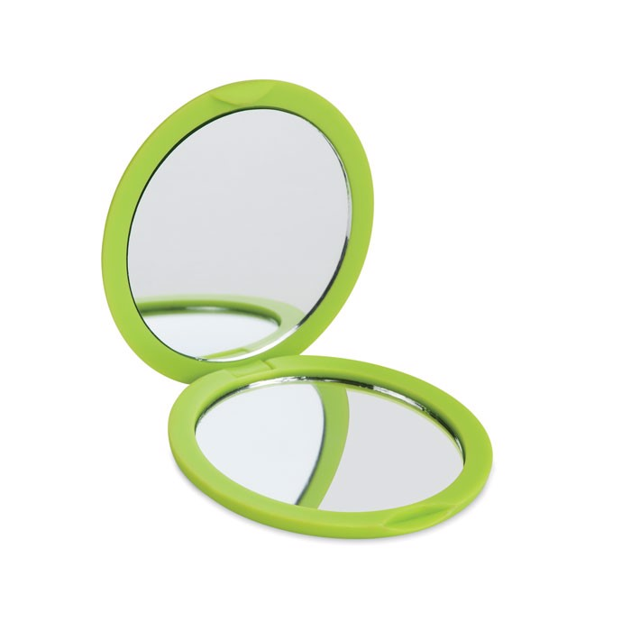 Double sided compact mirror Stunning - Lime