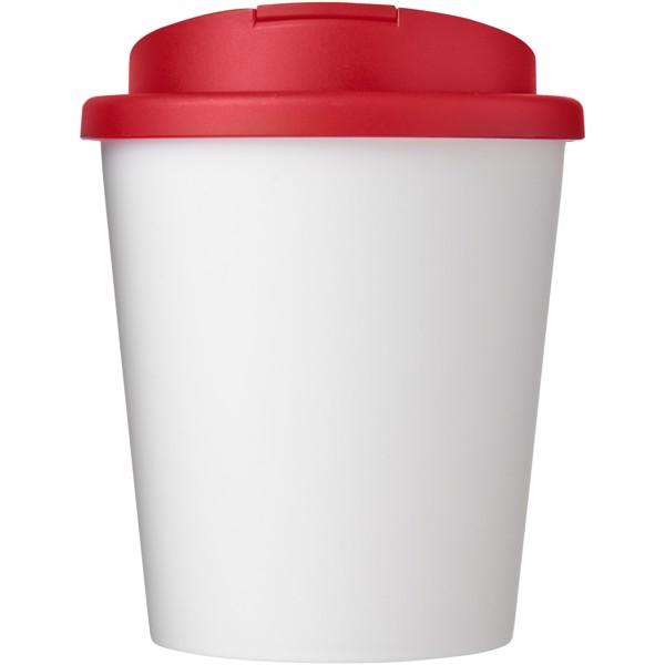 Americano Espresso® vaso 250 ml con tapa antigoteo - Blanco / Rojo