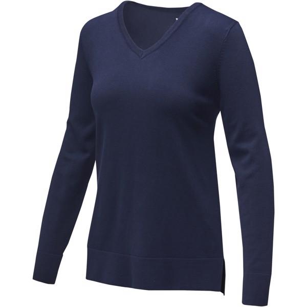 Stanton women's v-neck pullover - Navy / XXL
