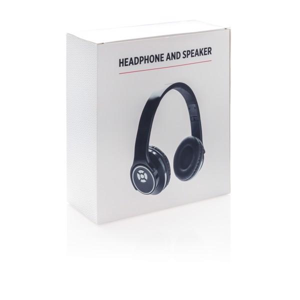 Bezdrátová sluchátka a reproduktor 2v1