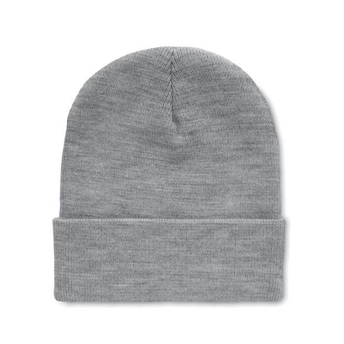 Beanie in RPET with cuff Polo Rpet - White / Black