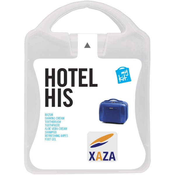 MyKit Hotel His Travel Set - White
