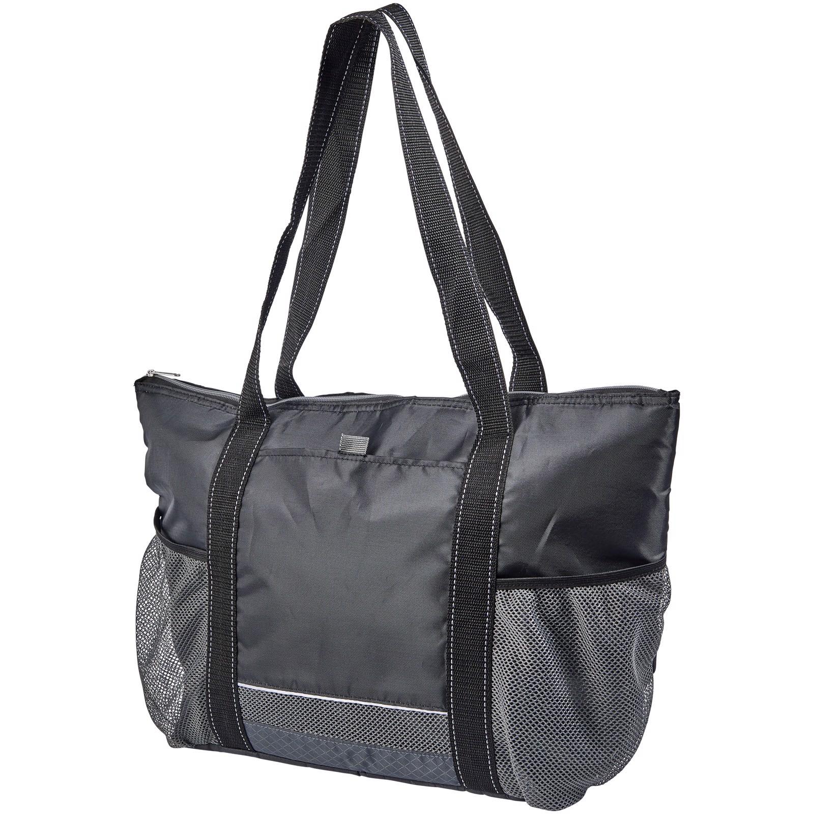 Falkenberg 30-can cooler tote bag - Solid black
