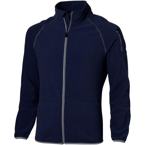Drop shot full zip micro fleece jacket - Navy / M