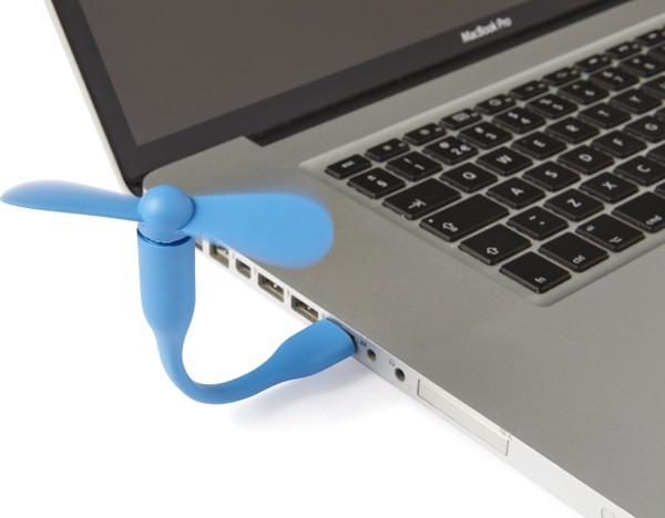 PVC USB fan - White
