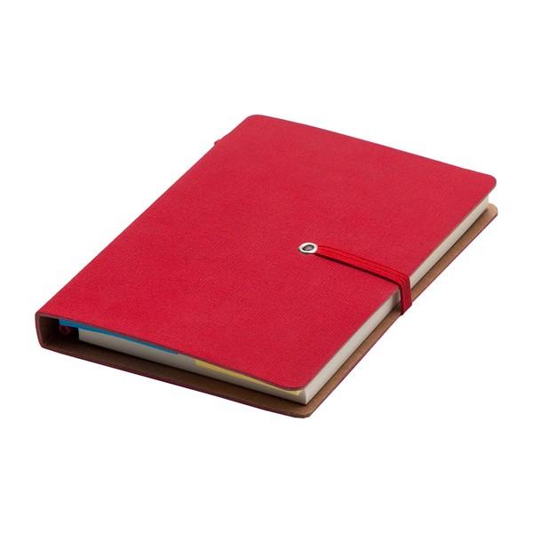 Notes 90x140/70k linia Como - Czerwony