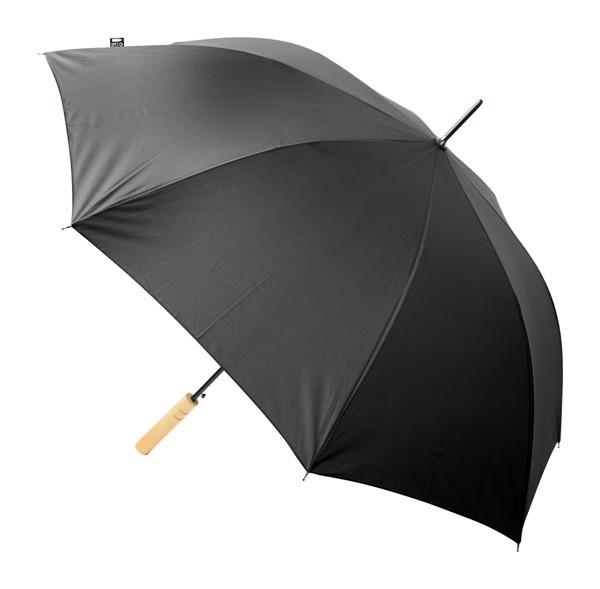 Umbrelă Asperit, Material Reciclat Rpet - Negru