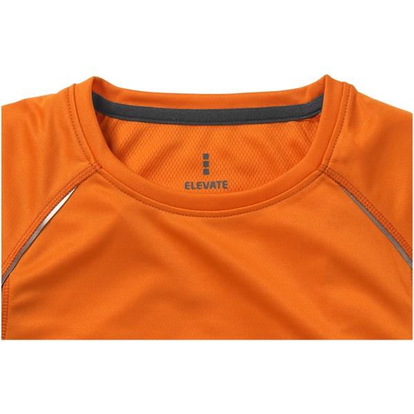 Quebec short sleeve women's cool fit t-shirt - Orange / Anthracite / XL