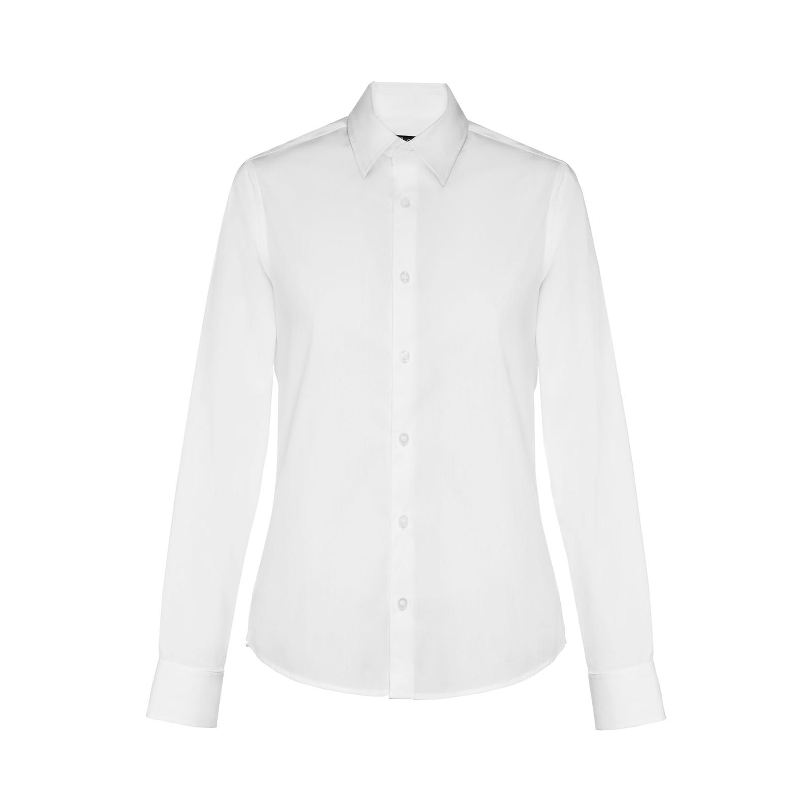 THC PARIS WOMEN WH. Dámská popelínová košile - Bílá / S