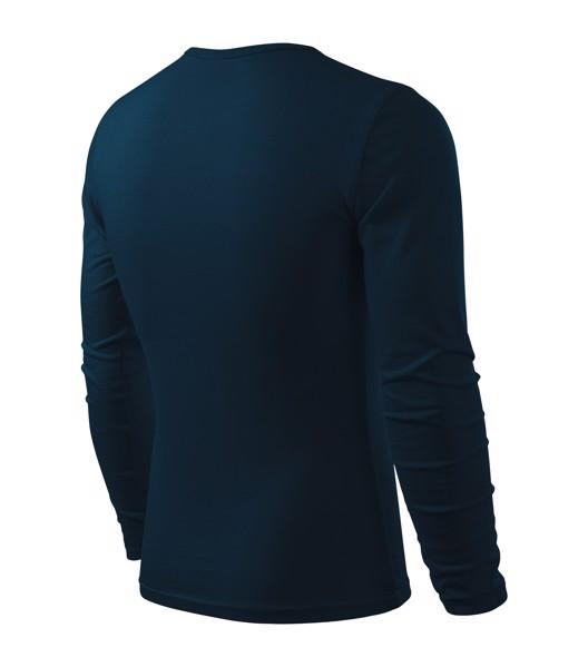 Triko pánské Malfini Fit-T LS - Námořní Modrá / L