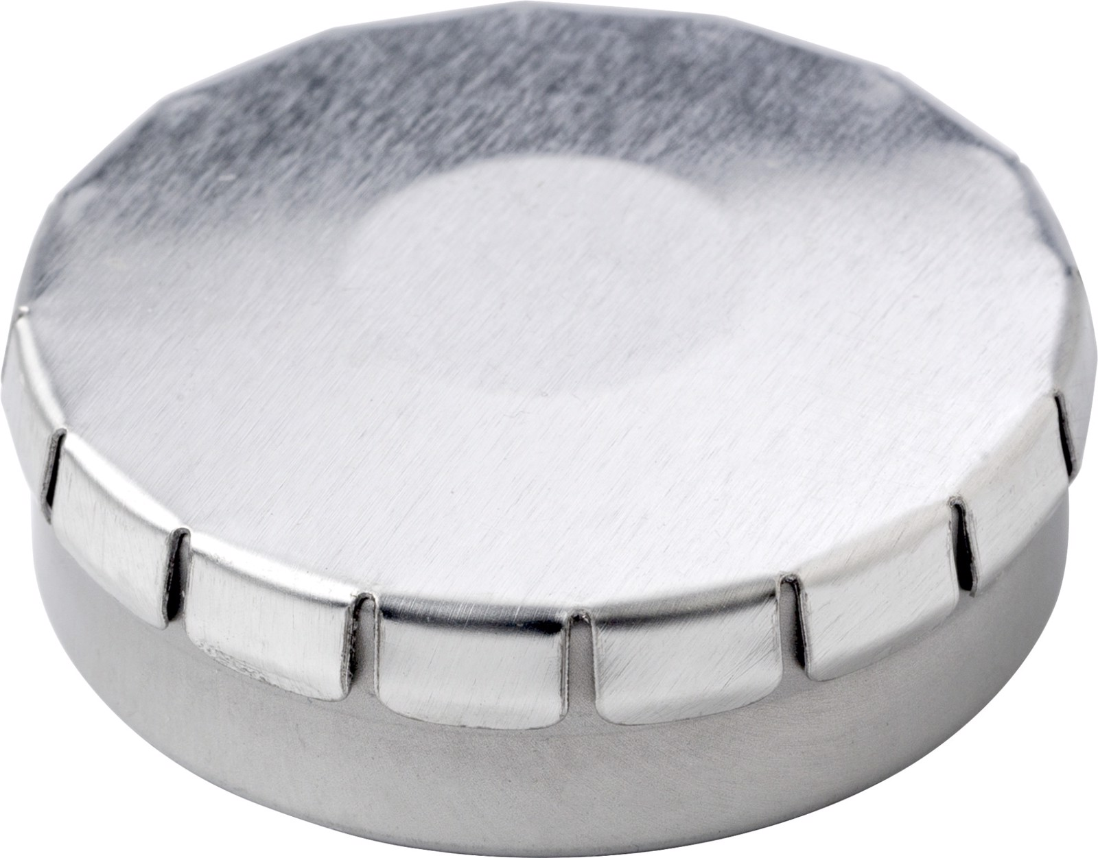 Tin with mints - Silver