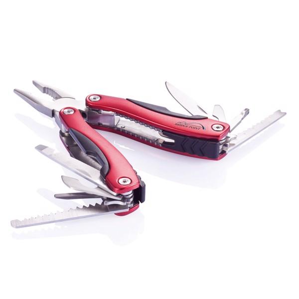 Multifunkční nůž Fix - Červená / Černá