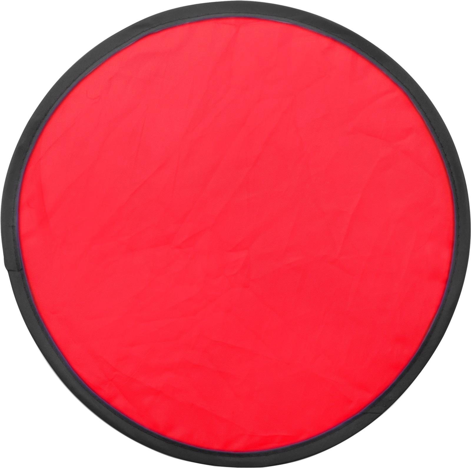 Nylon (170T) Frisbee - Red