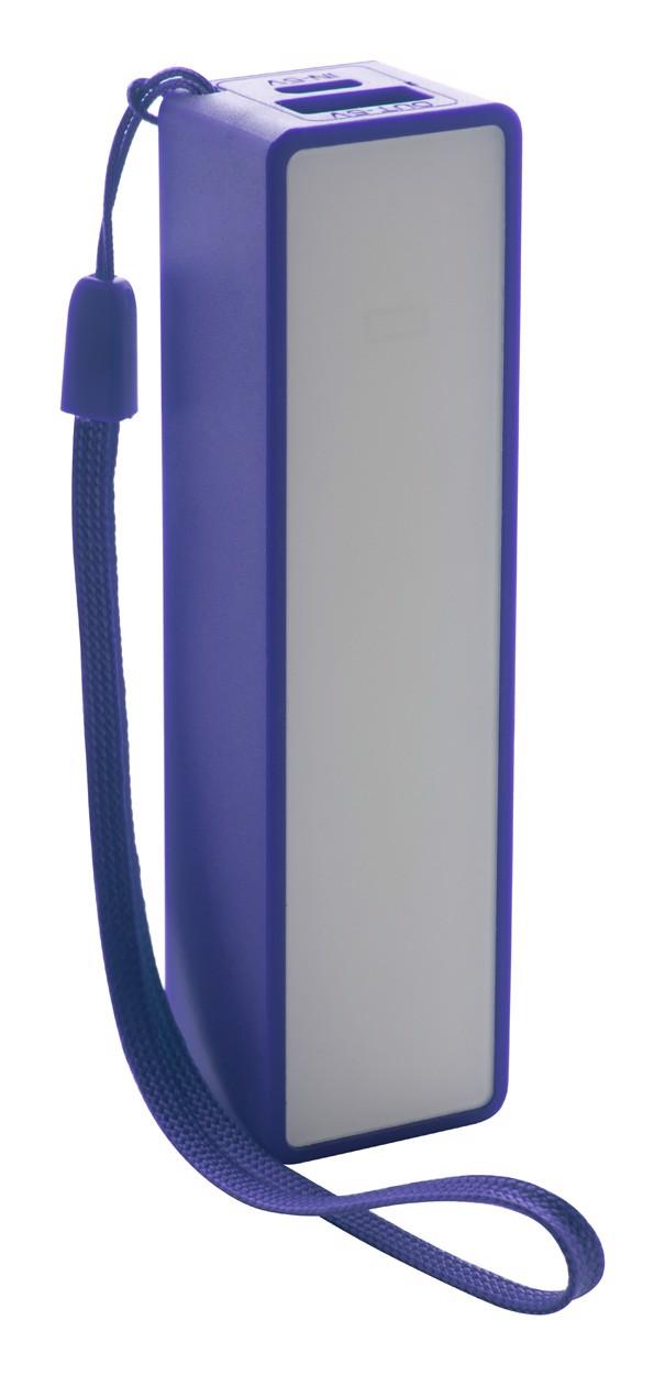 Usb Power Banka Keox - Modrá / Bílá