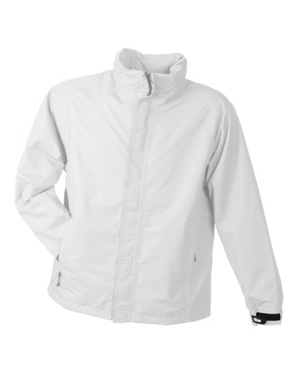 Men`S Outer Jacket - White / L