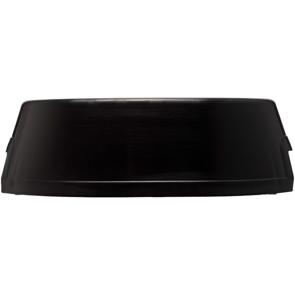 Jetplastic dog bowl - Solid Black