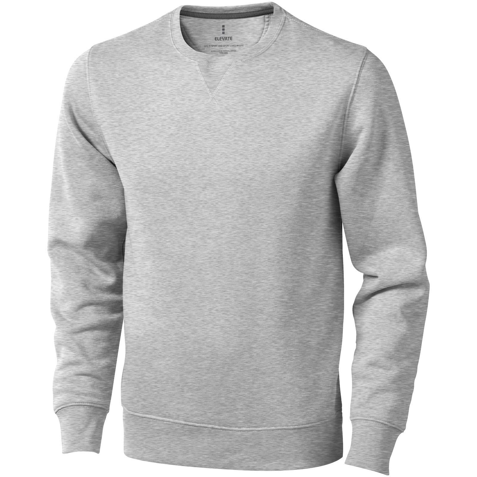 Surrey crew Sweater - Grey Melange / S