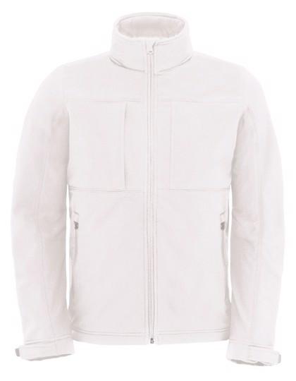 Hooded Softshell / Men - White / XXL