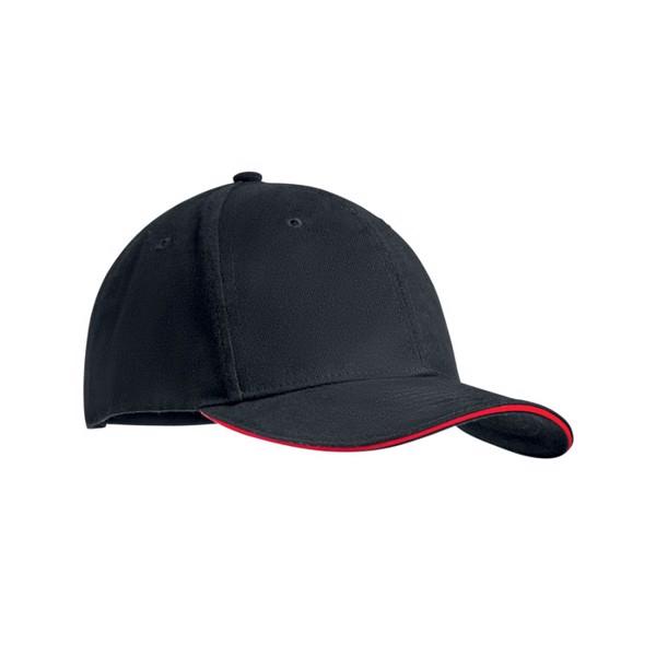 Czapeczka bejsbolowa Dunedin - czerwony