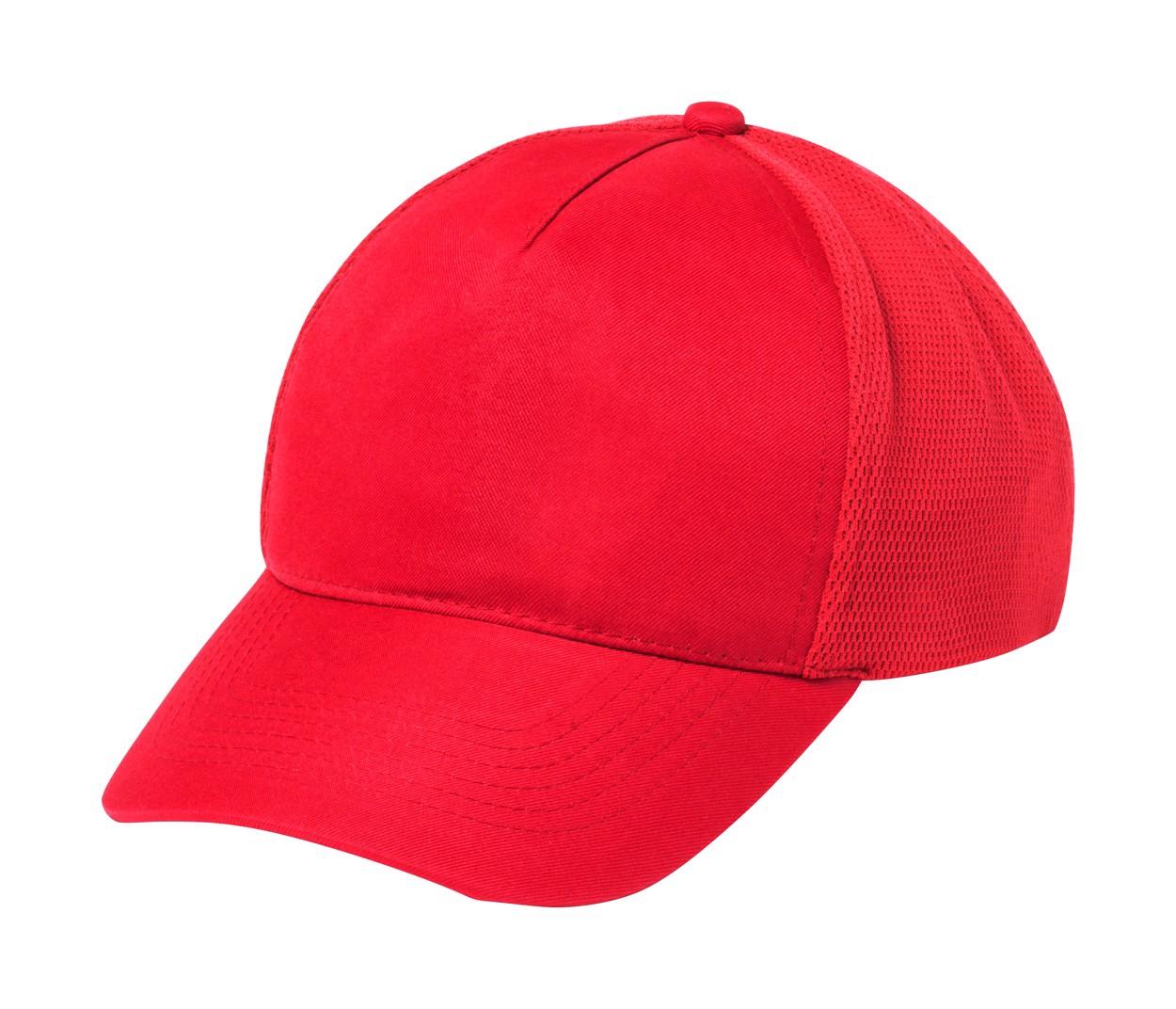 Baseballová Čepice Karif - Červená