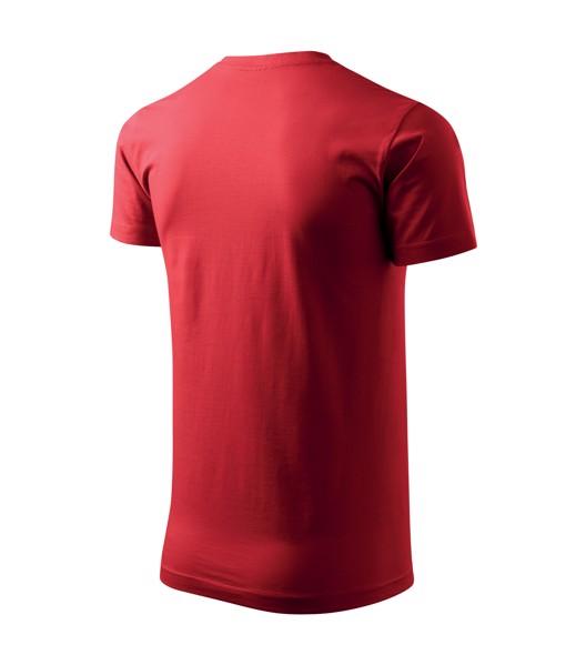 Tričko pánské Malfini Basic - Červená / 3XL