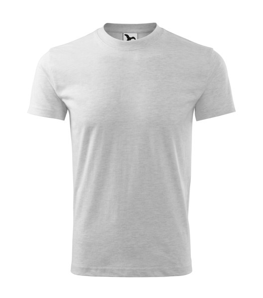 T-shirt unisex Malfini Heavy - Ash Melange / M