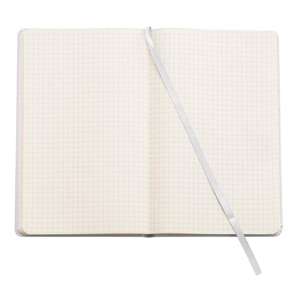 Notatnik 130x210/80k kratka Asturias - Biały