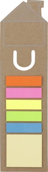 Cardboard bookmark - Brown