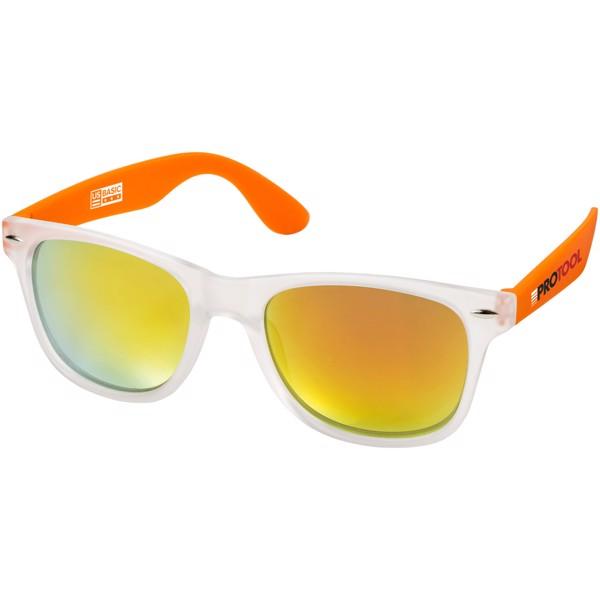 California exclusively designed sunglasses - Orange / Transparent