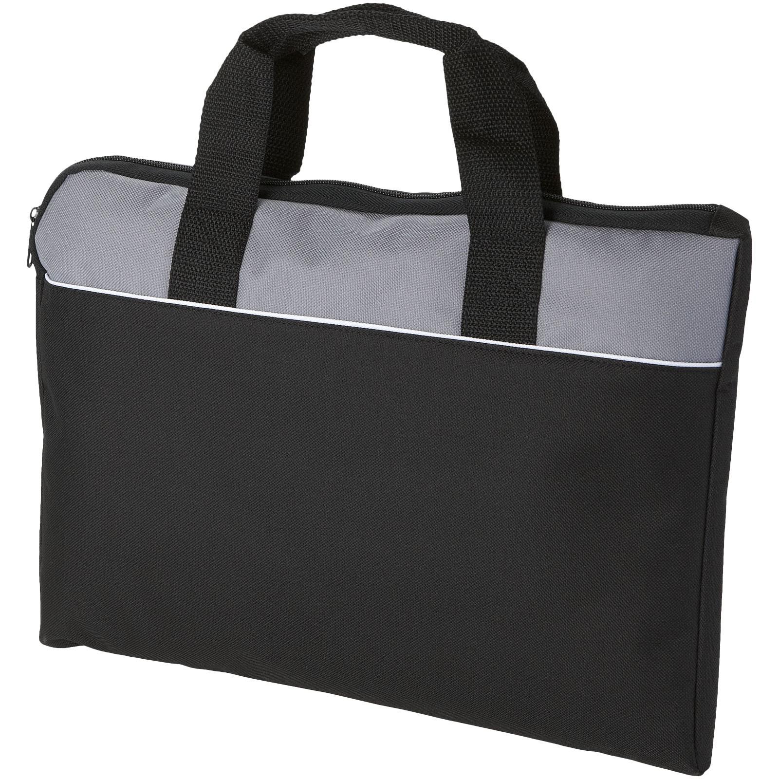 Konferenční taška Tampa - Černá / Šedá