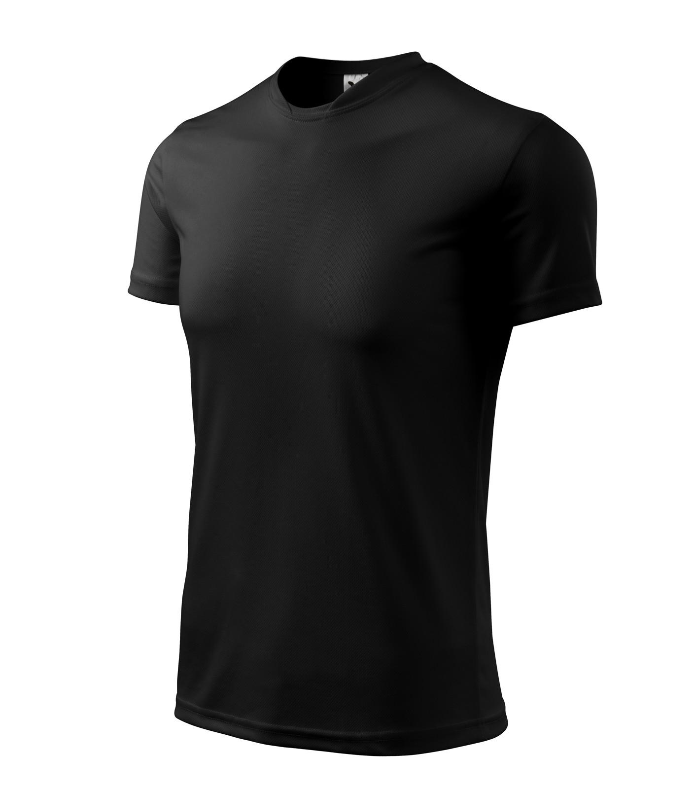 T-shirt Gents Malfini Fantasy - Black / 2XL