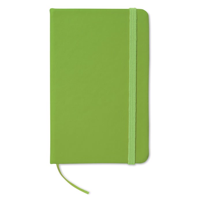 A6 notebook lined Notelux - Lime