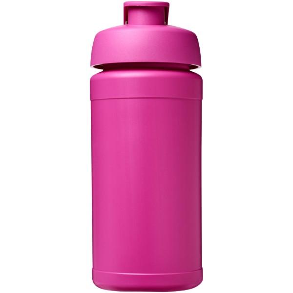 Baseline® Plus 500 ml flip lid sport bottle - Magenta