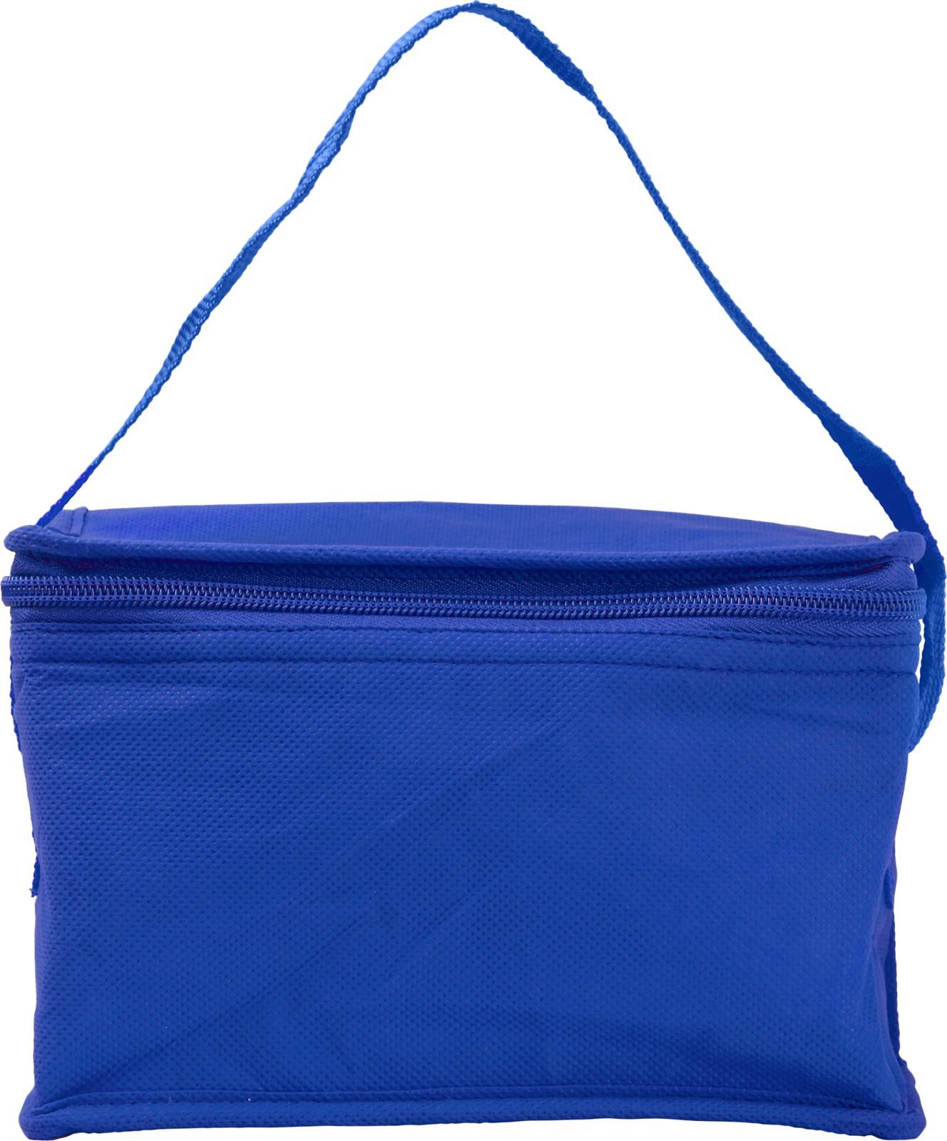 Nonwoven (80 gr/m²) cooler bag - Cobalt Blue