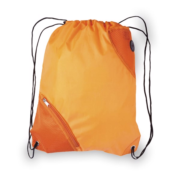 Drawstring Bag Fiter - Orange