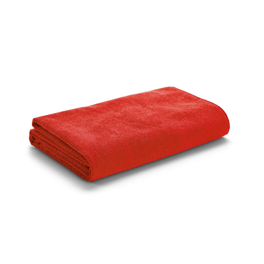 CALIFORNIA. Beach towel - Red