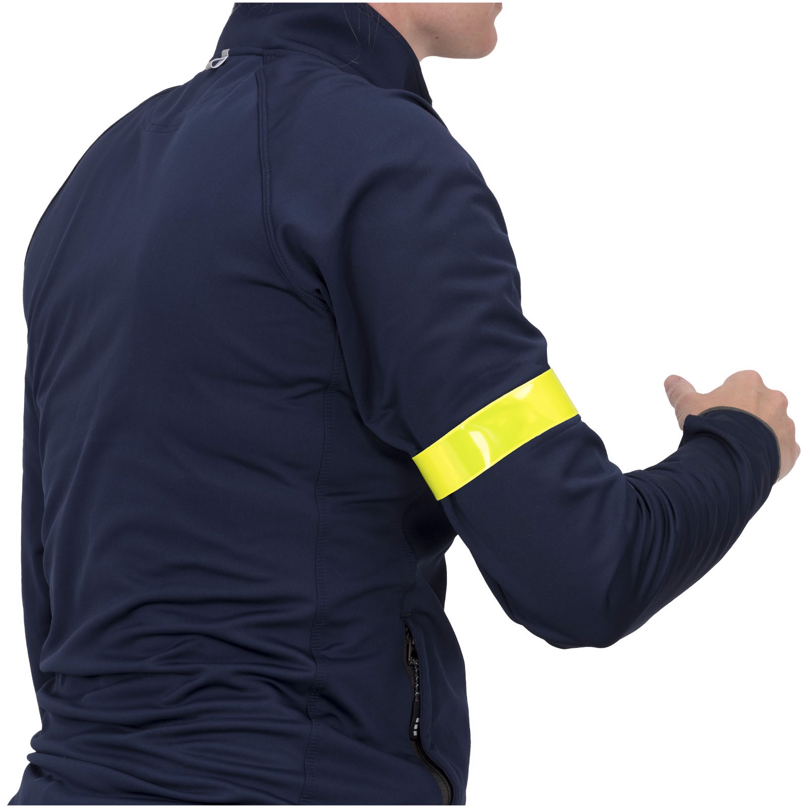 Reflective slap wrap small - Yellow