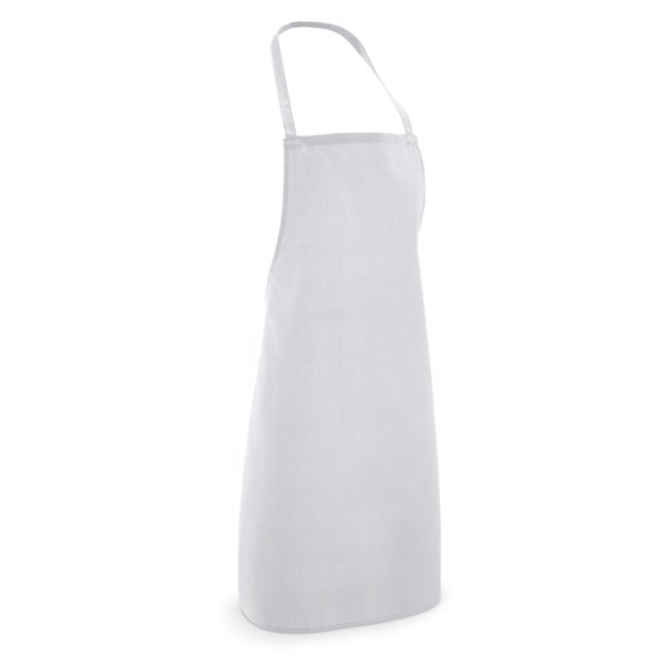 CURRY. Apron in cotton and polyester - White