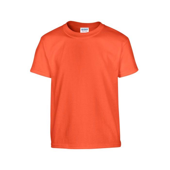 Youth t-shirt 185 g/m² Heavy Youth T-Shirt 5000B - Orange / L