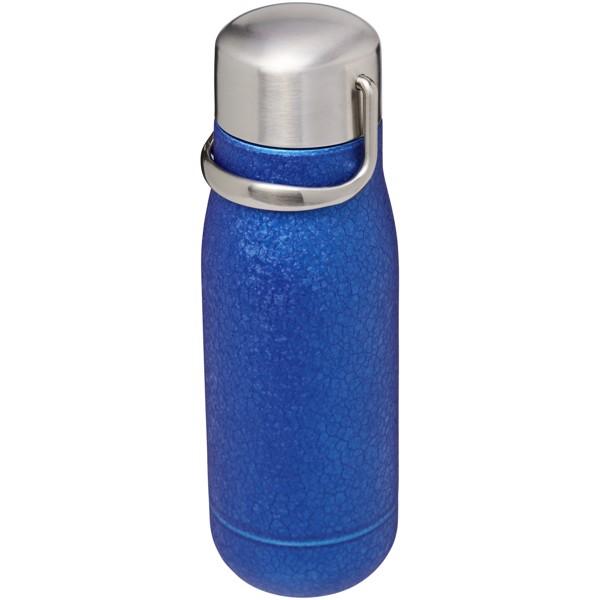 Miedziany izolowany próżniowo bidon Yuki o pojemności 350 ml - Niebieski