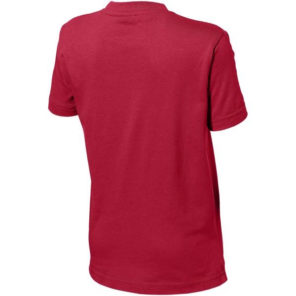 Dětské triko Ace s krátkým rukávem - Tmavě červená / 164