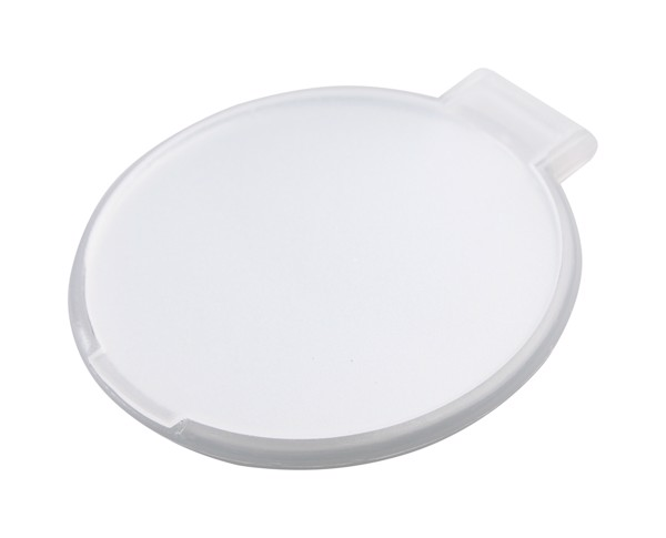 Pocket Mirror Thiny - White / White