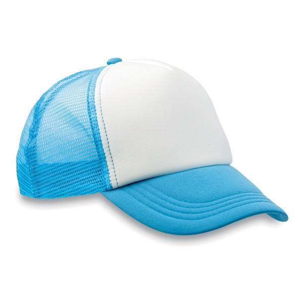 Czapka -bejsbolówka Trucker Cap - turkusowy