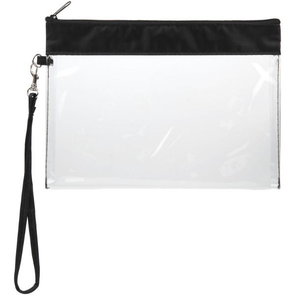Sid seethrough travel pouch - Transparent clear